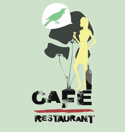 咖啡店背景文化墙