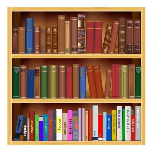书架图书书籍插图