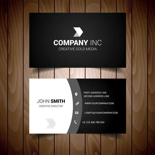 公司名片设计图片模板