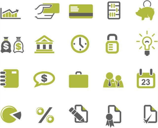 金融标志logo