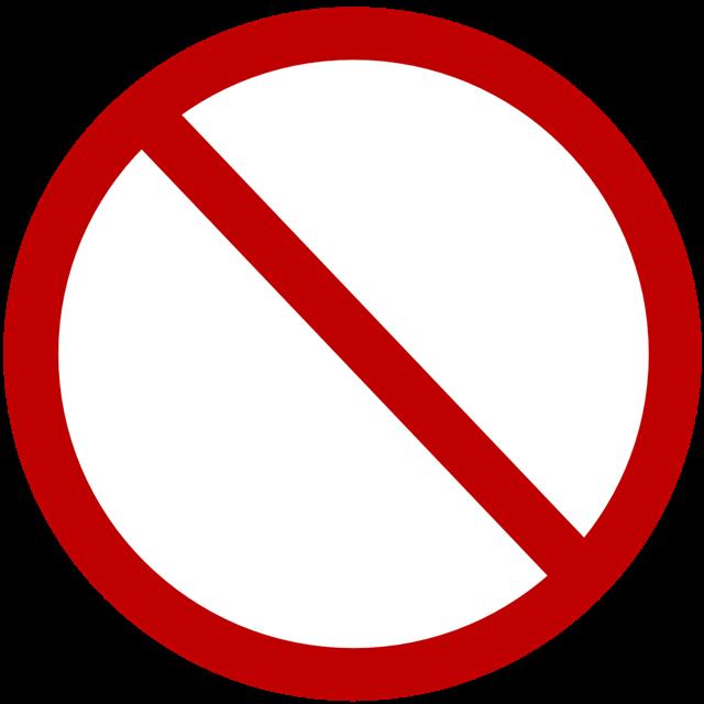 停车交通法则标志
