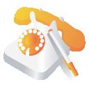 座机电话logo标志