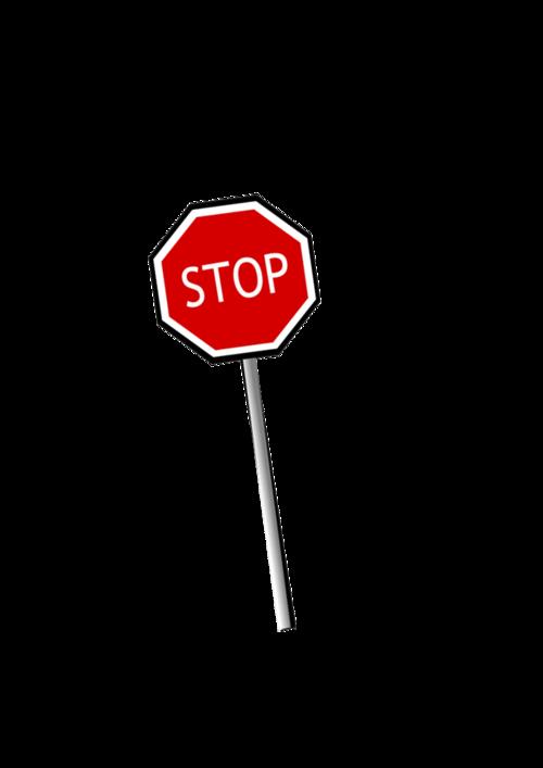 指示牌停车标志