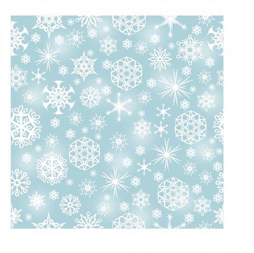 无缝雪花图案背景图