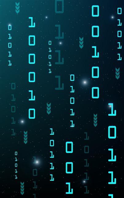 数字科技背景图
