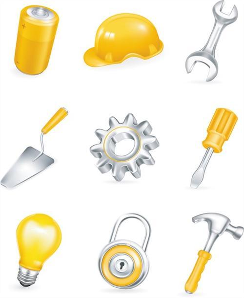 家用维修工具元素