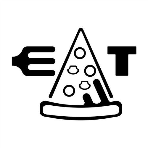 披萨店图标logo