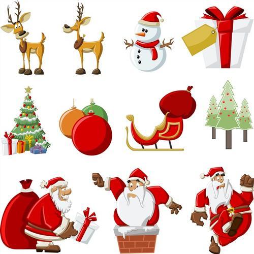 圣诞节装饰元素素材