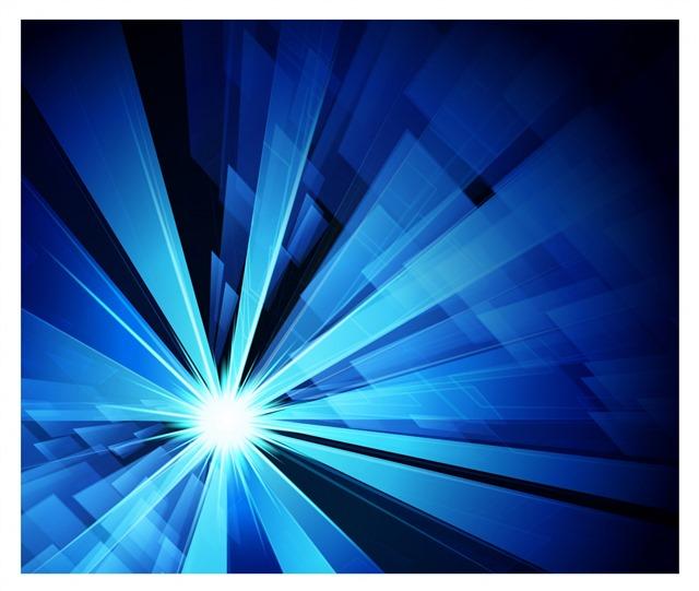 蓝色科技几何背景