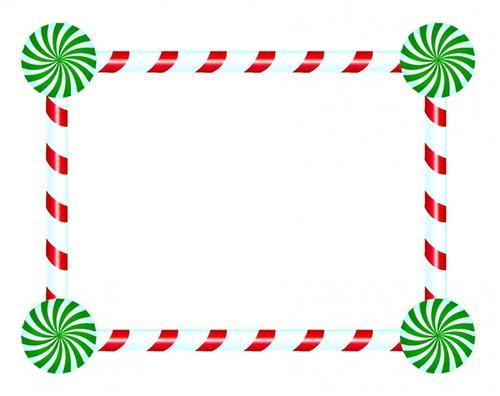圣诞节边框图案
