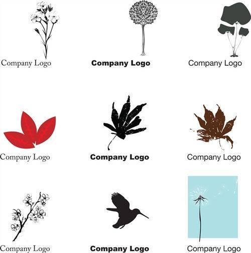 公司l植物ogo设计