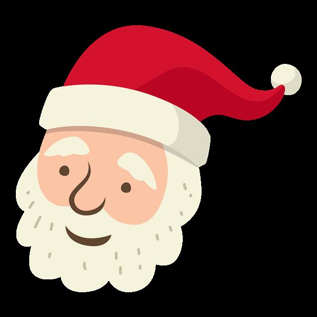 圣诞老人贴纸图片
