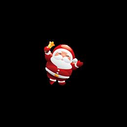 糖果圣诞老人图标logo