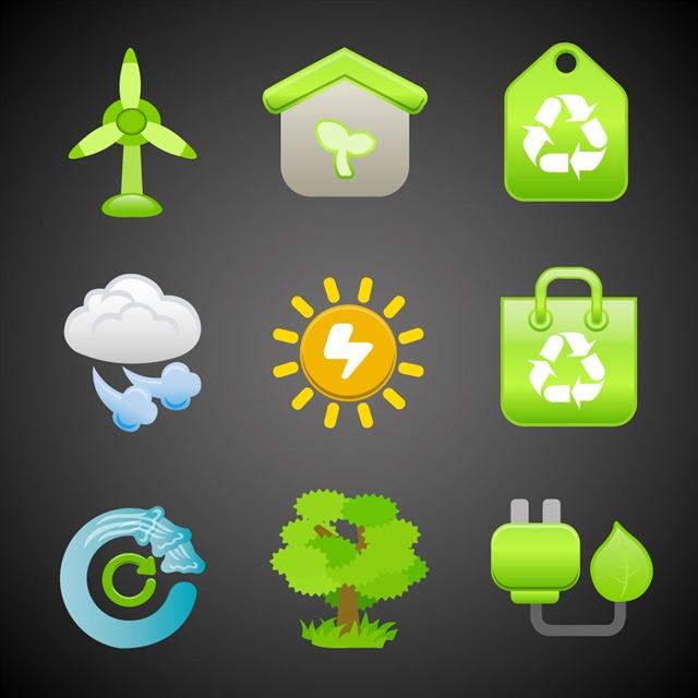 环保主题图标图片