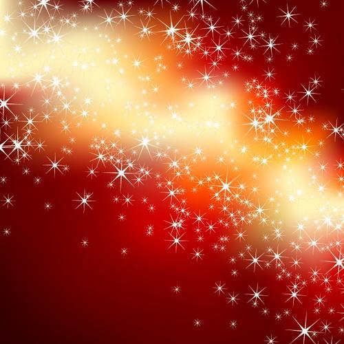 红色光效喜庆节日背景