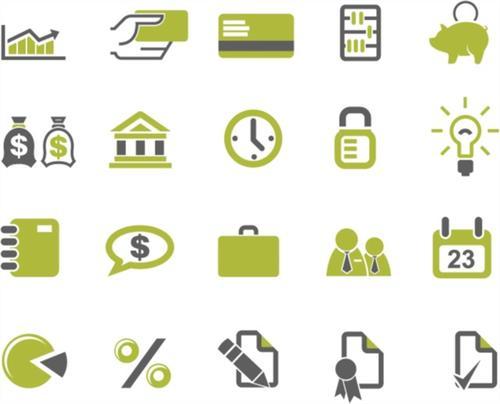 创意金融图标