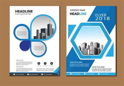 公司宣传手册封面图