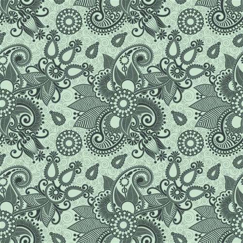 复古花纹装饰背景图