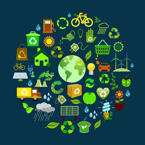 生态环境环保图标