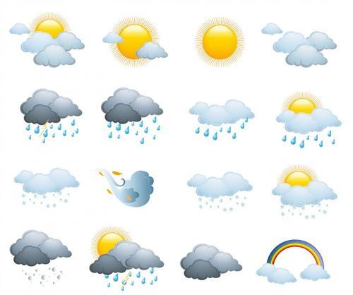 标准天气图标