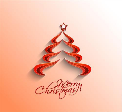 创意矢量圣诞树图片