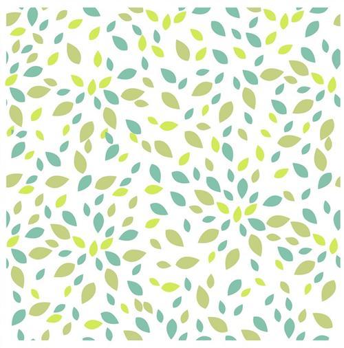 绿叶底纹平铺背景