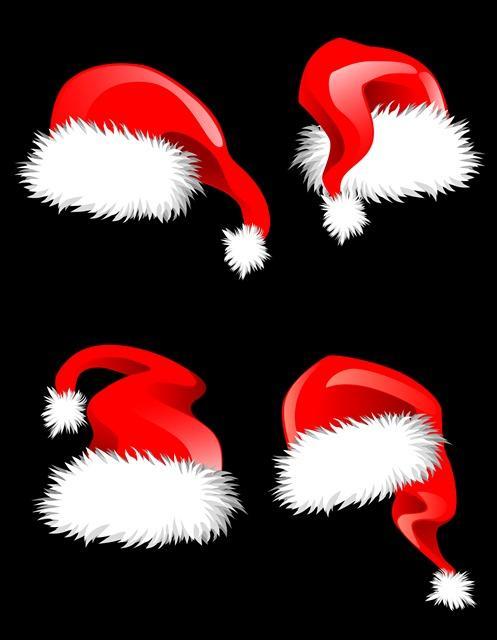 圣诞帽元素