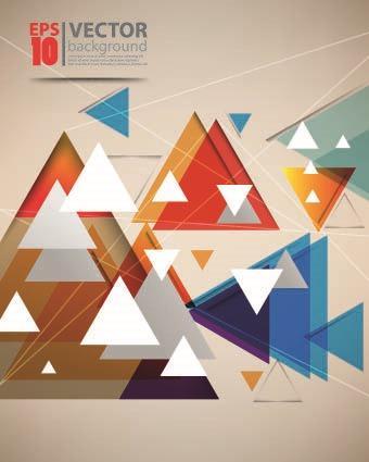抽象几何背景图