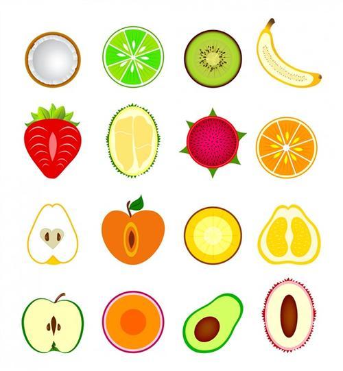 水果图标logo