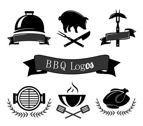 烧烤BBQ创意LOGO设计