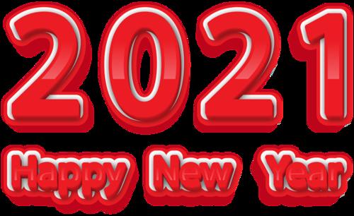 新年快乐2021艺术字图片