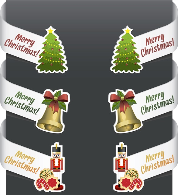 圣诞节元素背景图片