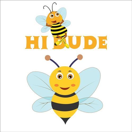 黄色卡通蜜蜂
