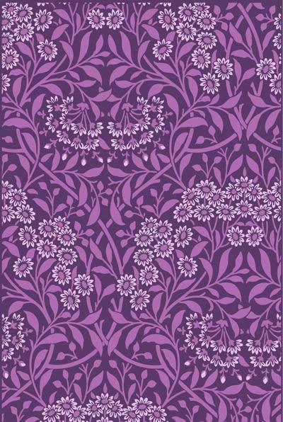 植物花卉底纹背景图