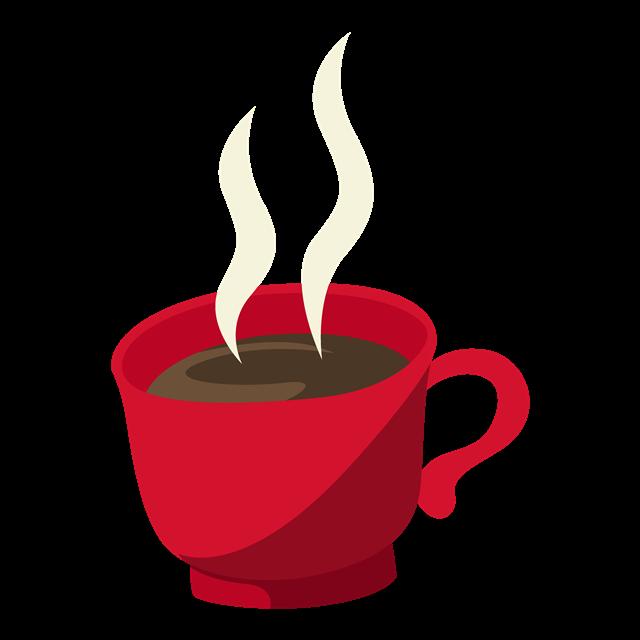 圣诞节咖啡元素图片