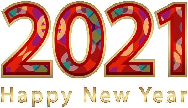 2021数字新年圣诞节