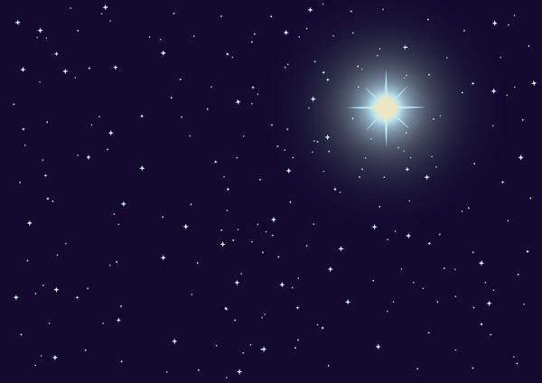 黑色星空背景图
