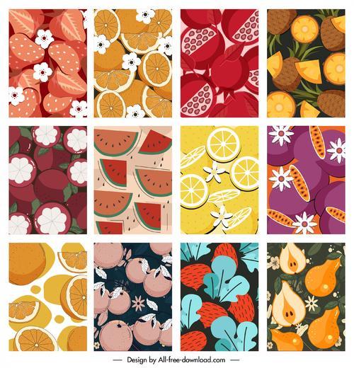 四件套水果图案样式