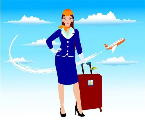 航空空姐职业女性