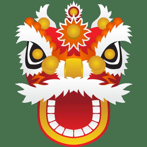 舞狮头像图片