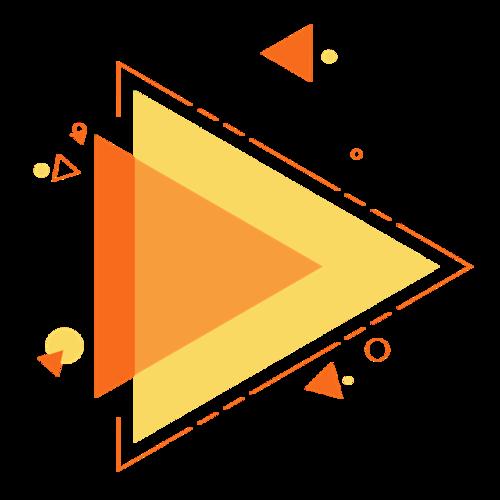 双12电商几何边框