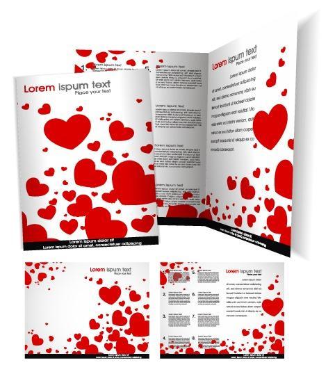爱心公益宣传手册