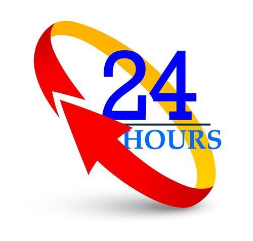 运营商营业24小时时间表箭头
