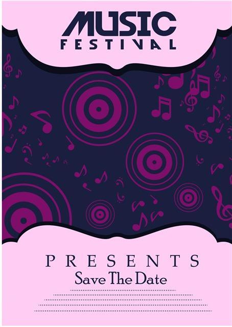 音乐节海报背景图