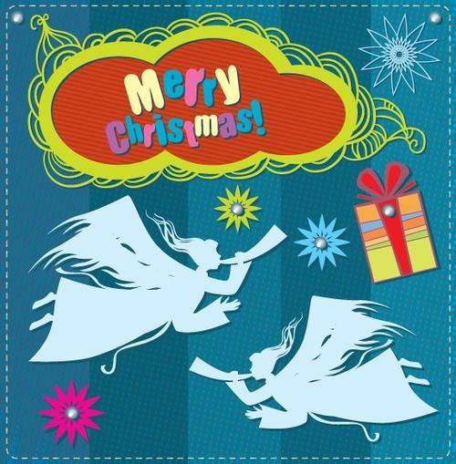 自制圣诞新年贺卡