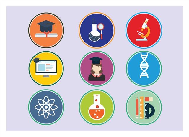 教育设计元素图标