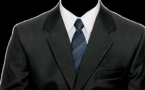 男士西服领带正装证件照