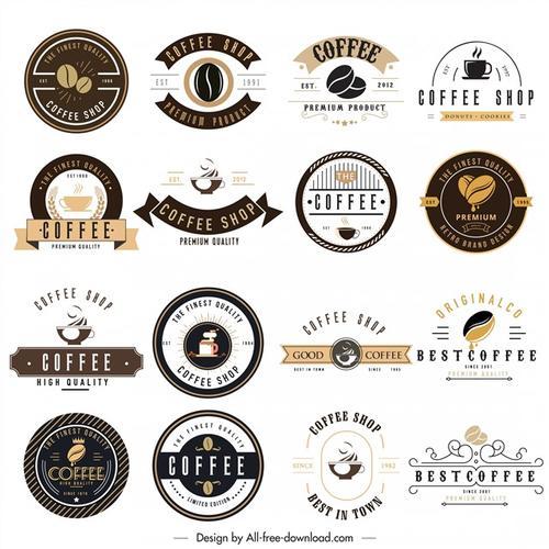 咖啡创意图标合集