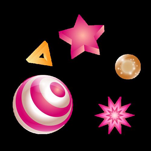 互联网电商促销星星气球漂浮