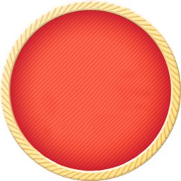 春节圆形边框